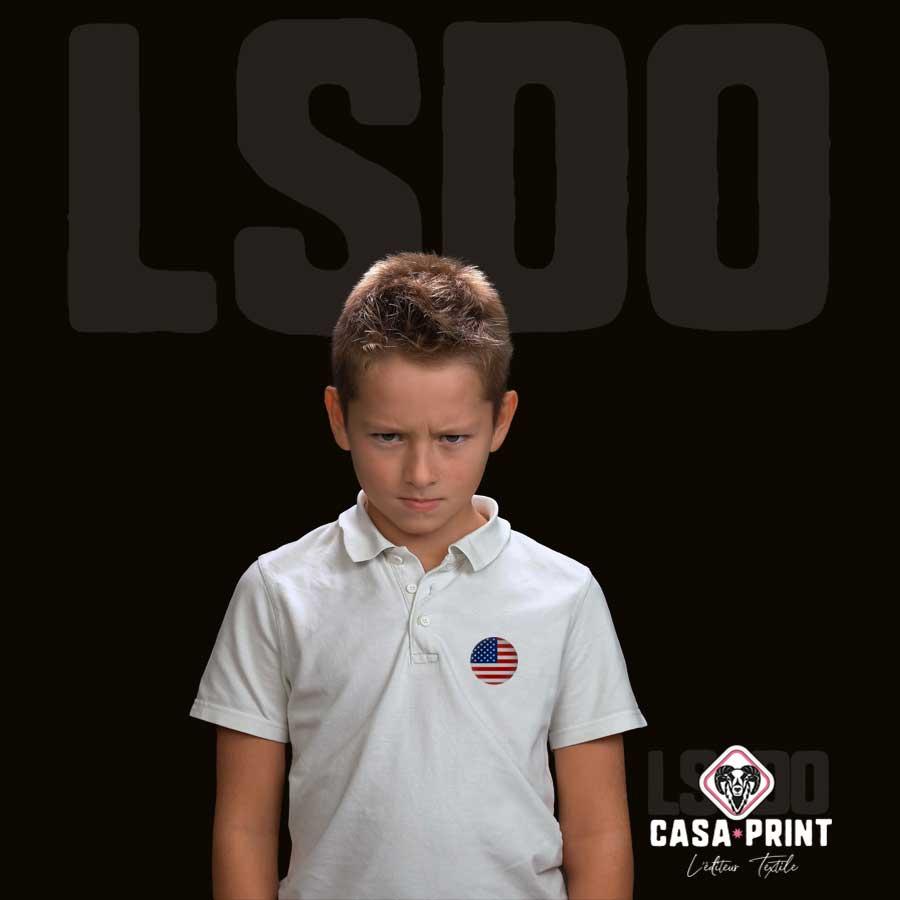 Polos et chemises personnalisés et personnalisables enfant en Vendée