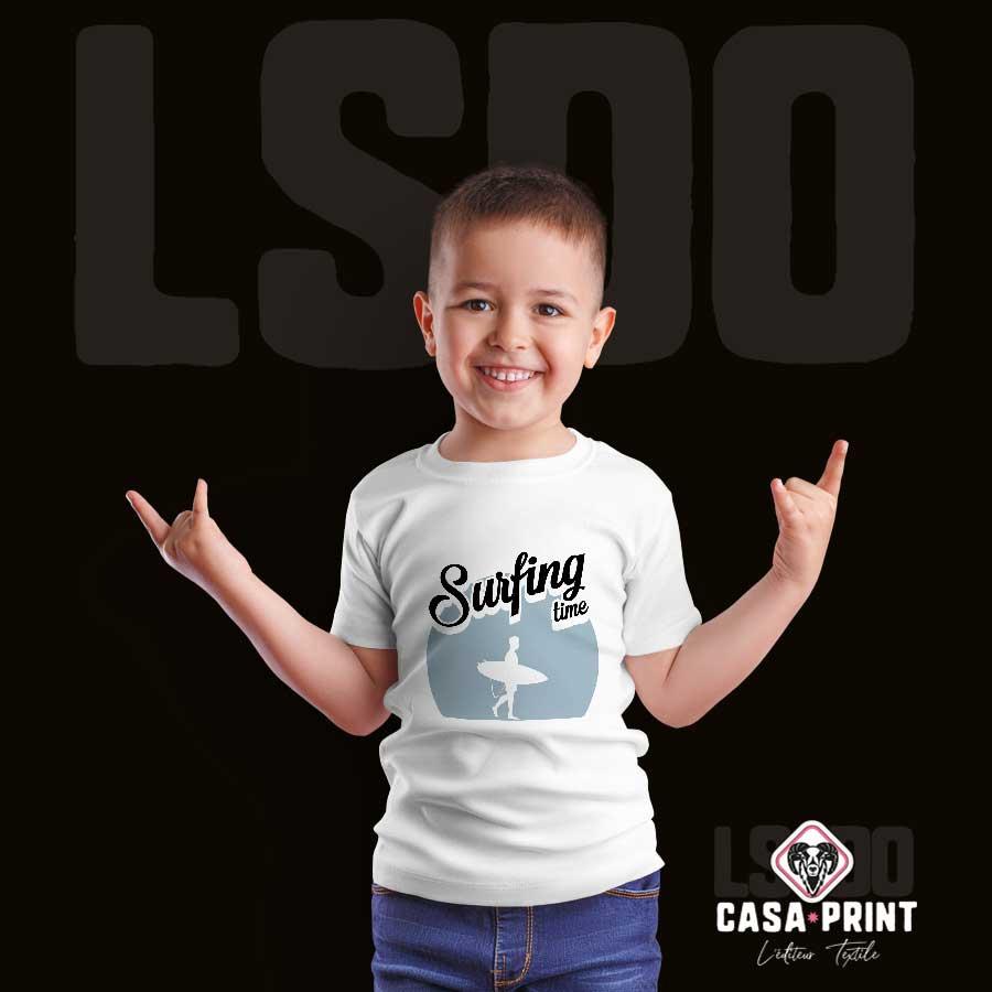 T-shirt personnalisé et personnalisable pour enfant