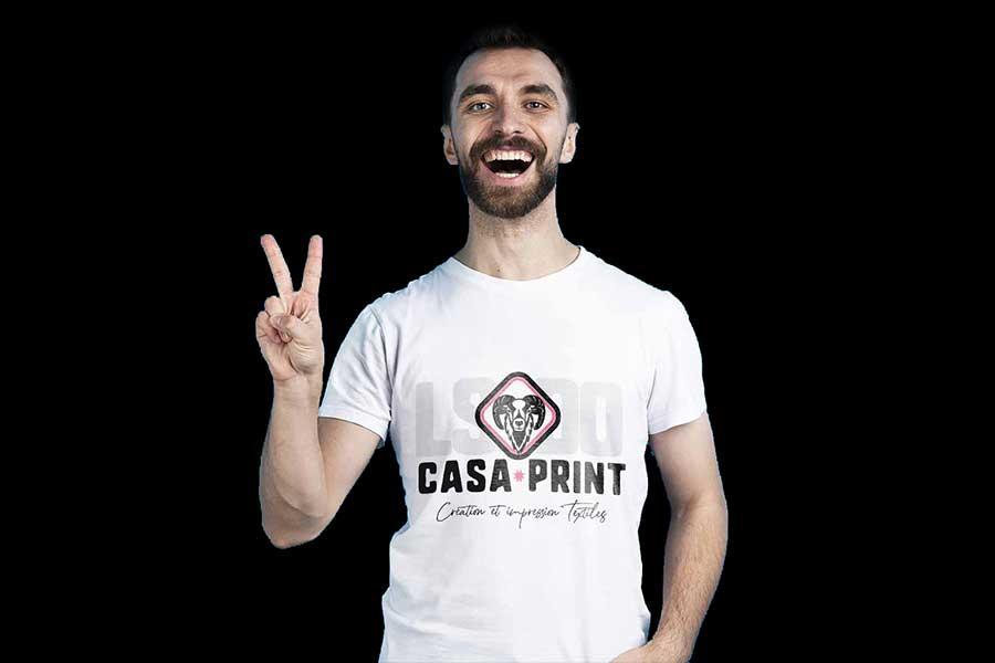 Personnalisation de textile - Casa Print